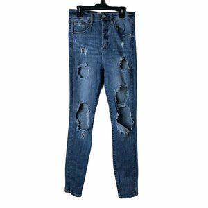 Garage Junior 7 Destroyed Premium Skinnyy Jeans